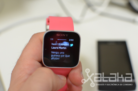Sony Smartwatch tweet
