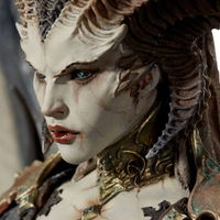 Esta descomunal figura de Lilith, de Diablo IV, no solamente conquistará tu corazón, sino que destrozará tu bolsillo