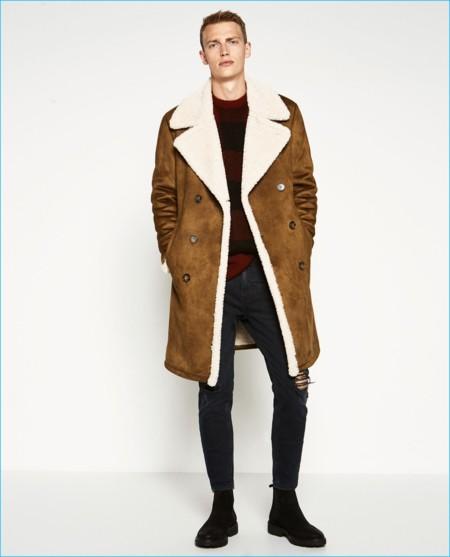 Zara nos impresiona con su colección de abrigos para el otoño