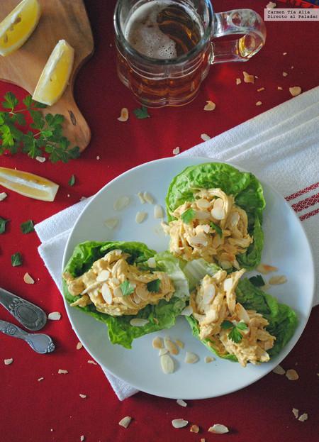 Coronation chicken o pollo de coronación: receta tradicional británica