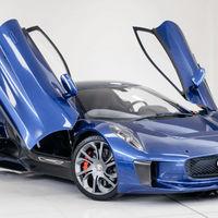 """Este Jaguar C-X75 que apareció en la película """"Spectre"""" puede ser tuyo, si no te importa que esté un poco modificado"""