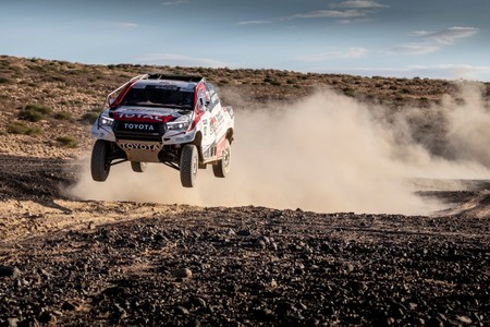 Fernando Alonso Toyota Dakar