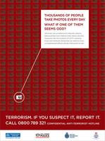 Pintas raras + cámara = Terrorista