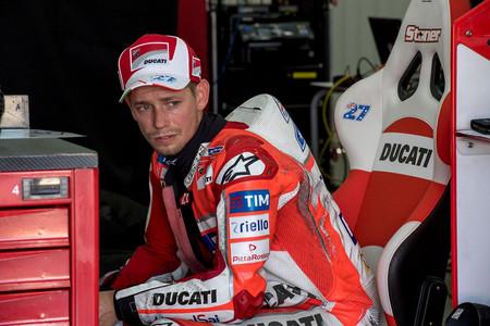 Casey Stoner Ducati Motogp 2017 Valencia Test 2