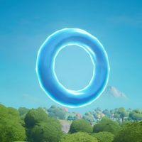 Desafío Fortnite: reúne círculos flotantes en Alameda Afligida. Solución
