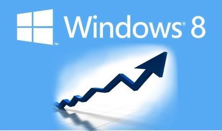 Junio es el mes en el que Windows 8 pasará a Windows Vista en cuota de usuarios