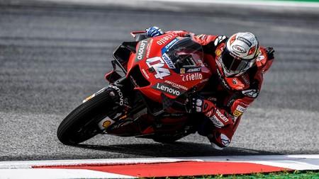 Andrea Dovizioso se reencuentra con la victoria en Austria el día que Valentino Rossi ha vuelto a nacer