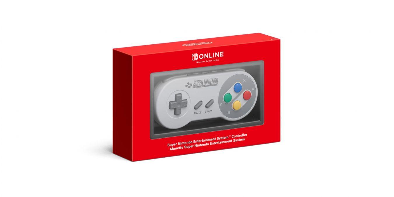 Mando de Super Nintendo Entertainment System