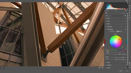 tonos medios color grading photoshop camera raw