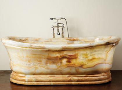 Bañera inspirada en Roma