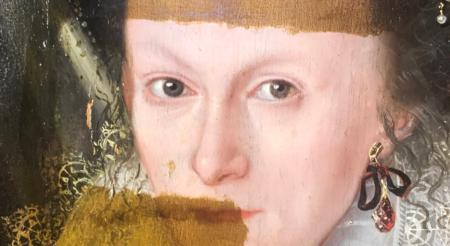 La magia de la restauración: así se borra de un plumazo el barniz de un cuadro de 400 años