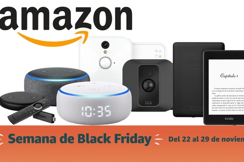 Semana del Black Friday en Amazon: ofertas en dispositivos Kindle, Echo, Blink o Fire TV Stick a precios mínimos