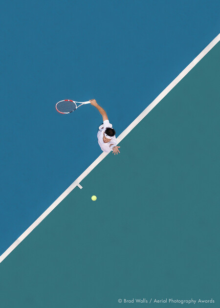 Ball Up Brad Walls Aerial Photography Awards