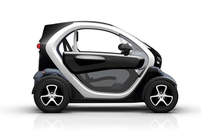 Renault Twizy negro (versión Technic con semipuertas)