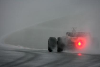 Preocupa no tener control de tracción bajo la lluvia