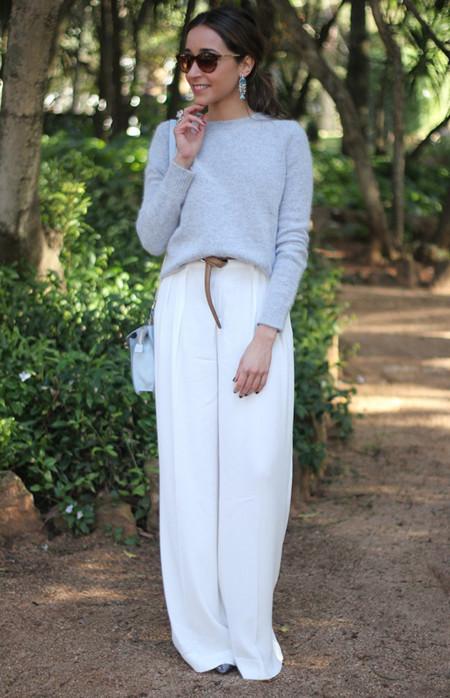 Los pantalones blancos que quiero para esta primavera