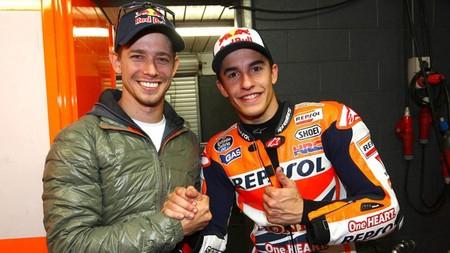 Marc Márquez y Casey Stoner, una pareja de pilotos atómica que Honda estuvo a punto de juntar en MotoGP