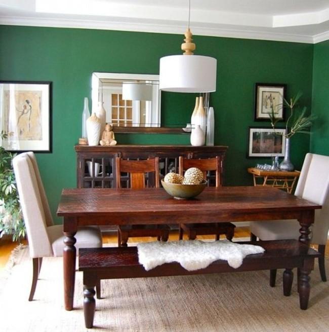 Baños Verde Esmeralda:Verde Esmeralda Comedor