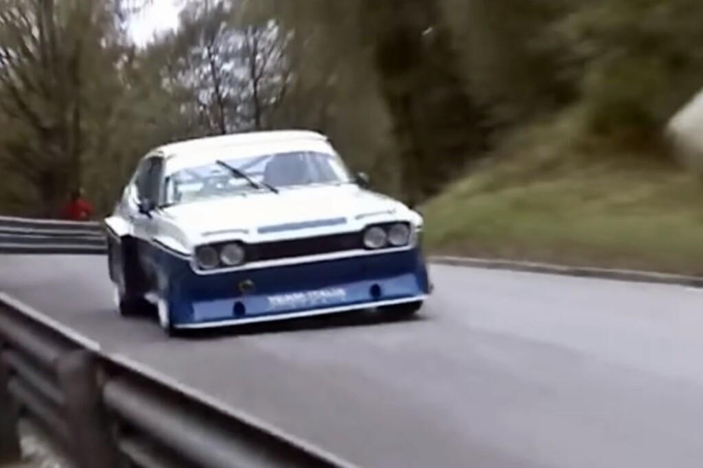 Coge palomitas: el furioso rugido de este Ford Capri V6 con 400 CV es el mejor regalo que puedes hacer hoy a tus oídos