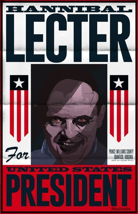 Horror Pres Posters Hannibal Lecter
