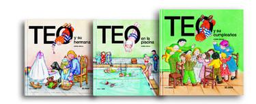 Colección de libros de Teo