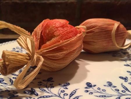 Tamales de cambray. Receta chiapaneca tradicional