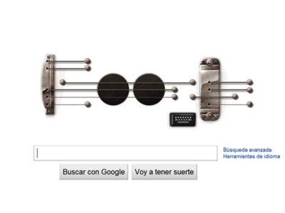 Google vuelve a hacerlo: Tremendo éxito del Doodle de Les Paul