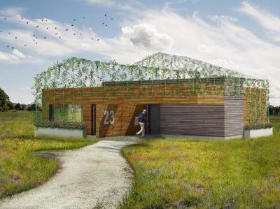 AGi architects nos presenta la vivienda unifamiliar sostenible en madera