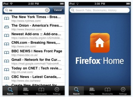 Firefox Home finalmente aprobada para iPhone