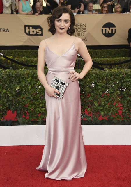 maisie williams juego de tronos sag awards