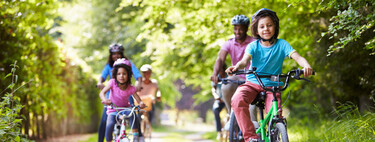 Nueve beneficios de montar en bicicleta para los niños