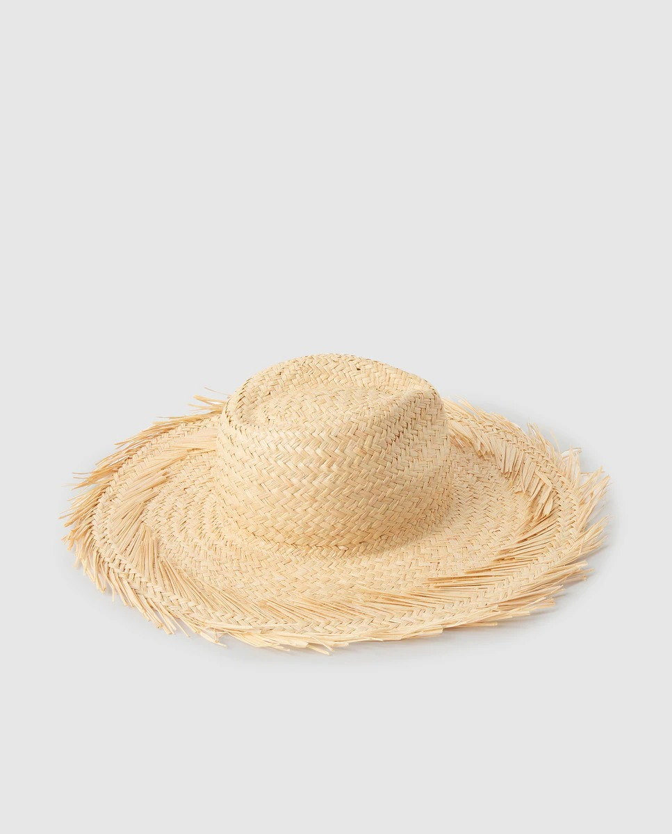 Sombrero de paja Énfasis