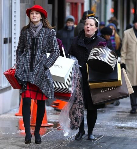 Leighton Meester Zuzanna Szadkowski Film Shopping Scene Gossip Girl New