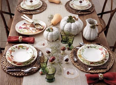 9 manteles y vajillas de El Corte Inglés para dar la bienvenida al otoño (y conquistar a tus invitados)