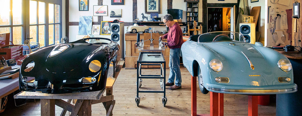 Regalos para apasionados del motor Bernd Pennewitz Porsche réplicas