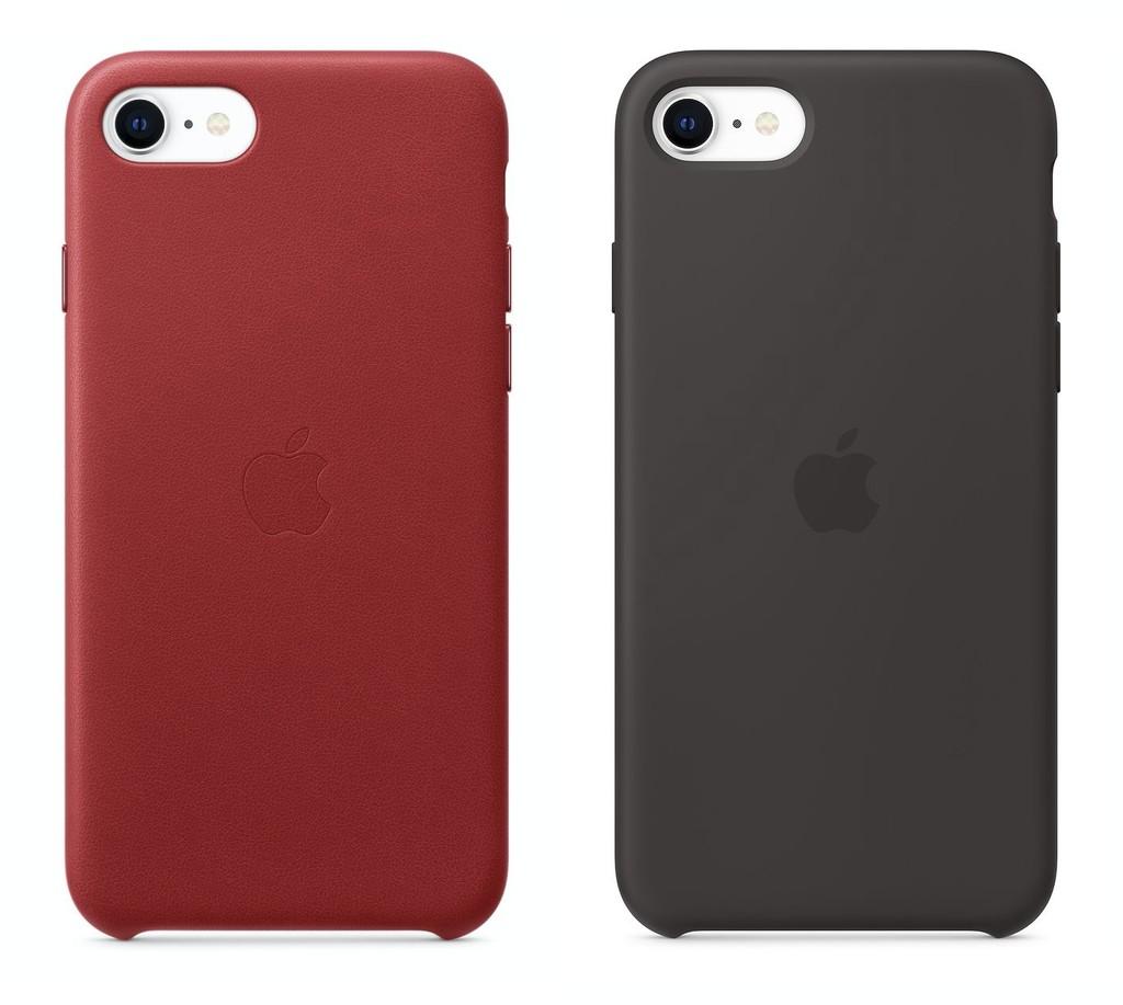 Apple presenta nuevas fundas de piel y silicona para el iPhone SE (2020)