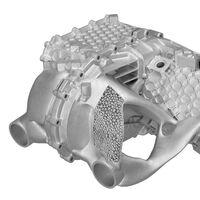 Porsche ha creado una carcasa para motores eléctricos por impresión 3D que es un 40% más ligera y un 100% más resistente