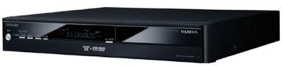 Toshiba Vardia RD-A301, con soporte de HD Rec