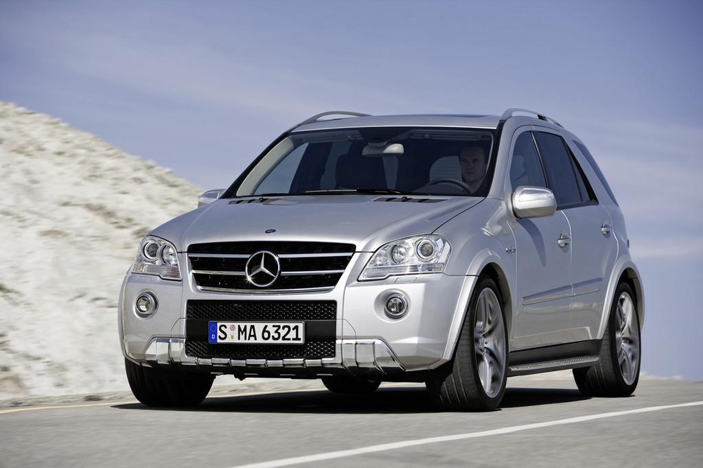Foto de Mercedes-Benz ML 63 AMG (2/7)