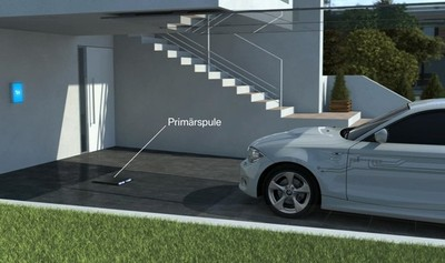BMW sigue adelante con el desarrollo de la recarga inalámbrica