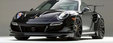 Porsche 911 Turbo S Gemballa GTR 8XX Evo-R, una preparación con dosis masivas de potencia y tuning