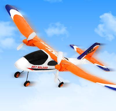 Sky soldier - Un avión teledirigido para todos