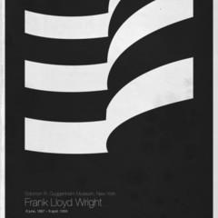 Foto 3 de 6 de la galería six-architects-posters-minimalistas-de-grandes-arquitectos en Decoesfera