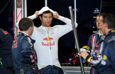 El tranvía que dejó fuera de carrera a Mark Webber en Singapur
