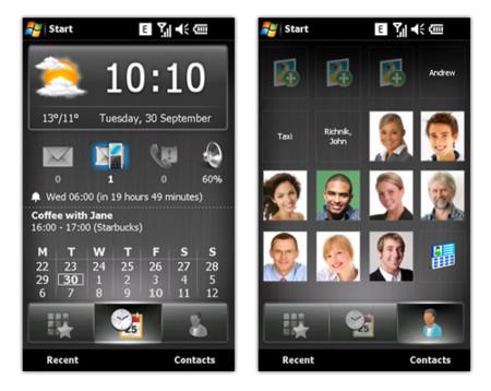 Mobile Shell de SPB para el Xperia X1