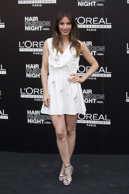 hair fashion night loreal paris madrid celebrities famosas Barbara Goenaga