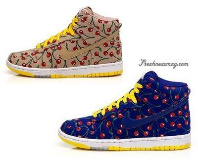 Zapatillas Nike Skinny Dunk Cherry