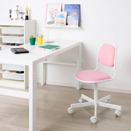 Mesa escritorio en color blanco