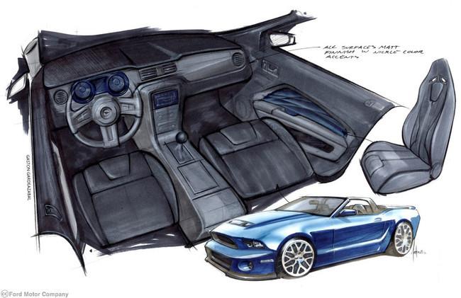 Ford Mustang visto por Stitchcraft