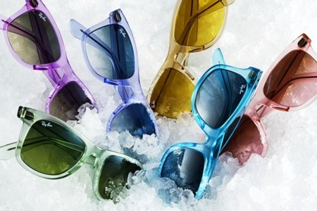 Ice Pop, la nueva colección de las gafas Ray-Ban Wayfarer